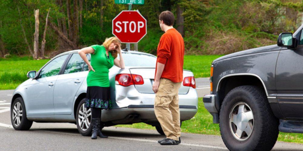 Дії водія у разі ДТП без потерпілих